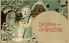 Snowman Christmas Greetings