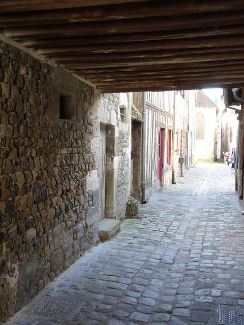 An older commercial street: Rue Des Petites Boucheries