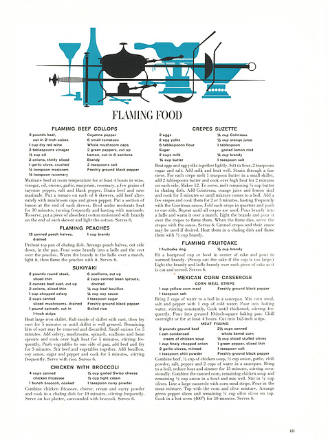 Flaming Food