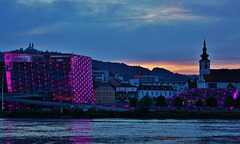 Das Ars Electronica Center in Linz