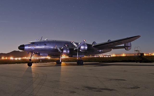 Lockheed VC-121A Constellation 48-0610 Columbine II