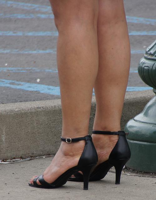 heels waiting
