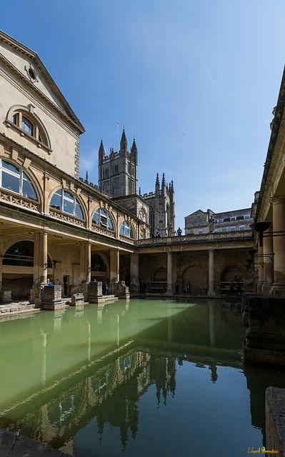 Bath: die alte römische Therme (PiP!!)