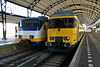 Trains 2990 and 7204 at Haarlem station