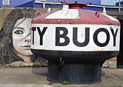 GIRL and BUOY