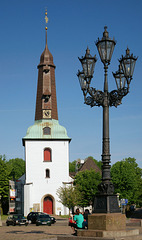 Marktplatz in Glückstadt..
