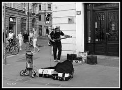 Música en las calles de Zagrev