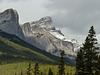 A view from Quarry Lake, Canmore