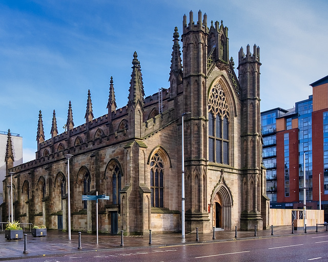 St Andrews Cathedral, Clyde Street, Glasgow