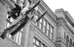 motoneige - acrobatie
