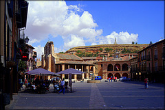 Ayllon, Segovia Province. Plaza Mayor.