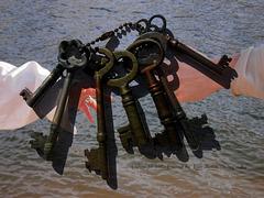 The keys  to my heart