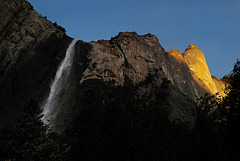 Yosemite Nat Park, Bridalveil fall