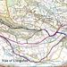 A 12m circular walk in February 1990, from Llangollen [2]