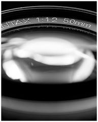 """SMC Pentax 50mm """"K"""" f/1.2."""