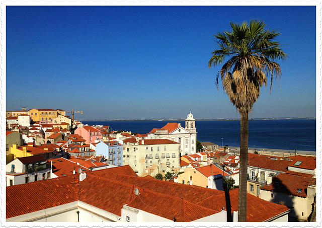 A postcard from Lisboa.