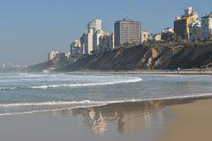 Netanya, Reflection in the Sand