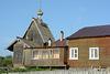 Рабочеостровск, Церковь Троицы Животворящей и Подворье Соловецкого монастыря