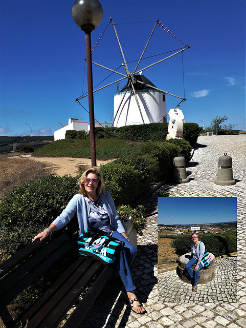 Pure air, wind that made flour in old times, at the Pinhoa Windmills