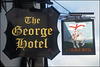 George Hotel sign