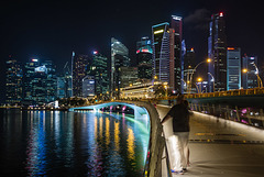 Singapore - Marina Bay at Night #4
