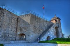 BESANCON: La Citadelle: La tour de la reine.