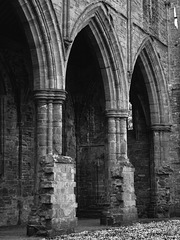 Tintern Abbey- Arches in the Nave