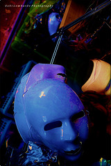 the blue mask