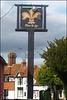 Fleur de Lys pub sign