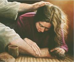 Ŝiaj pekoj estas multaj; sed ĉiuj estas pardonitaj, ĉar ŝi ege amis