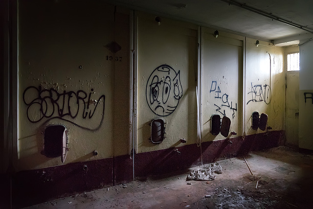 Abandoned Trieste - where the evil hides