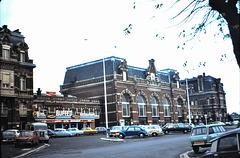Cambrai (59) octobre 1974. (Diapositive numérisée). La gare.