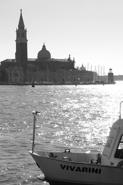 Looking across to San Giorgio Maggiore