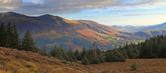 Northern Fells above Keswick - Lake District