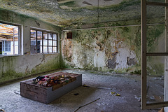 Abandoned Trieste - bedroom