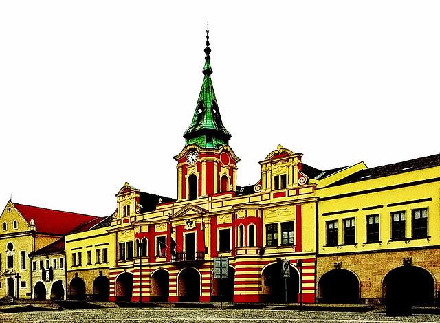 Rathaus Melnik (Tschechien)
