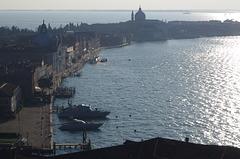 Looking west across Giudecca