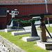 Norway, Harpoon Guns - Exhibits of the Polar Museum in Tromsø