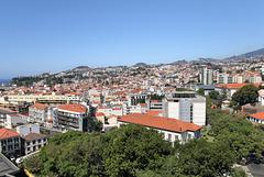 Funchal - Mit der Seilbahn von Funchal nach Monte (02)