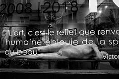 Paris - la pensée tronquée du Victor (Hugo)