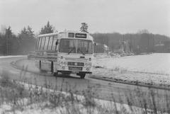 Ambassador Travel LL754 at Barton Mills - 6 Jan 1985