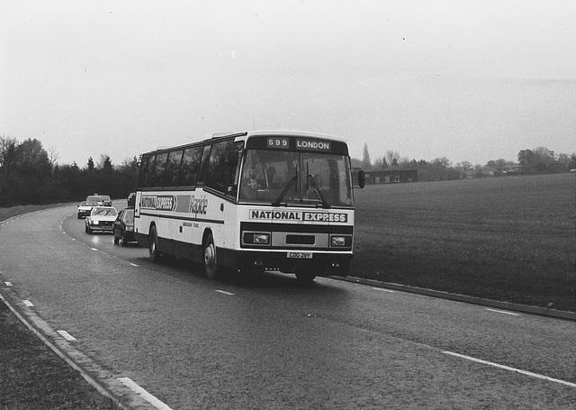 Ambassador Travel CDG 211Y at Barton Mills - 28 Apr 1985