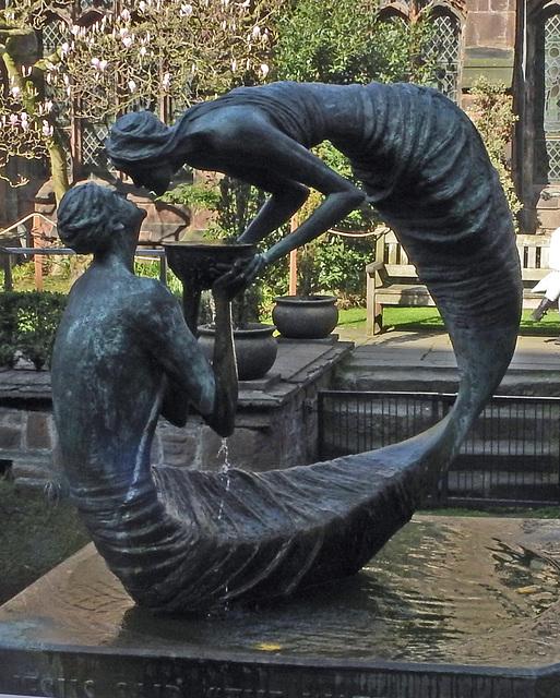 Statue in Cloister garden