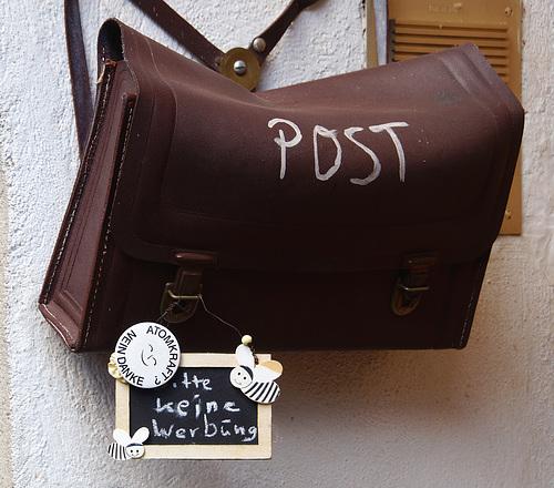 Briefkasten, mal anders