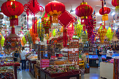 Shop full of paper lanterns