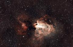 Swan Nebula/ Omega Nebula M17