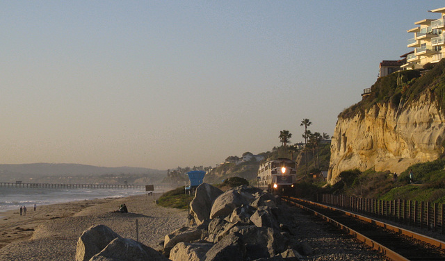 San Clemente Calafia Beach Metrolink (#0808)