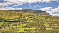 The way to Pen-y-ghent