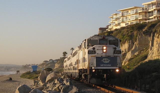 San Clemente Calafia Beach Metrolink (#0809)