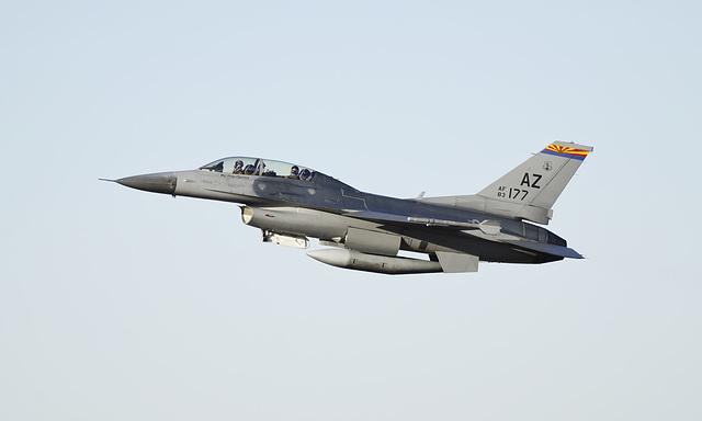 General Dynamics F-16D Fighting Falcon 83-1177